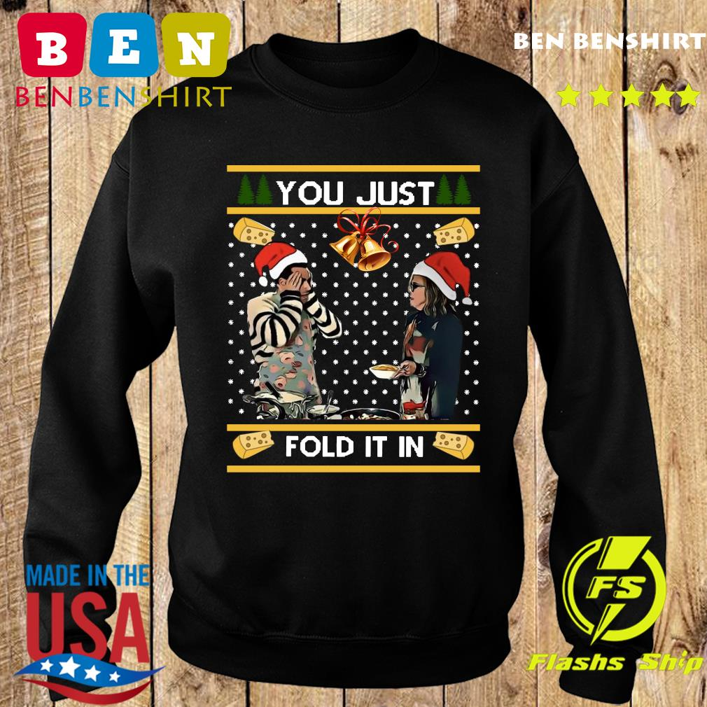 Schitt's Creek You Just Fold It In Merry Christmas Ugly Sweatshirt