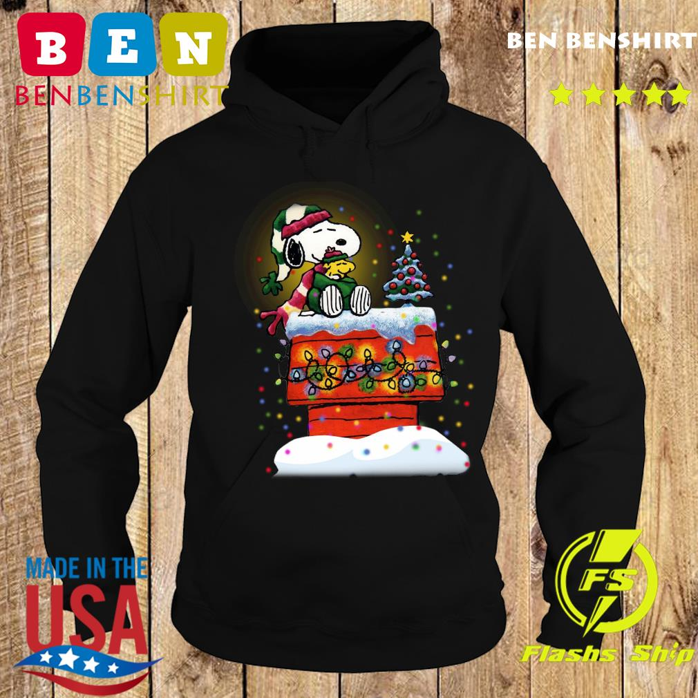Snoopy And Woodstock Merry Christmas Sweats Hoodie