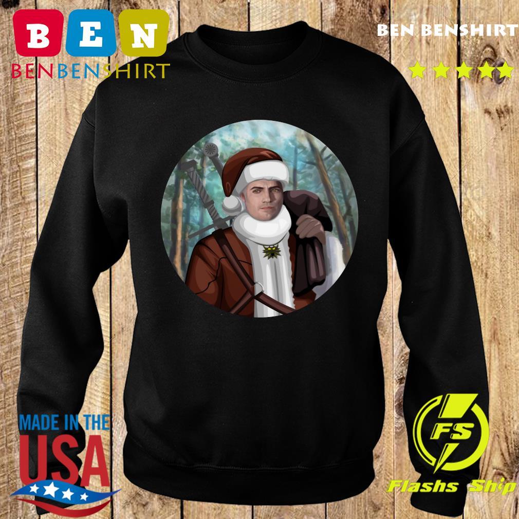 The Witcher Santa Crewneck Sweatshirt