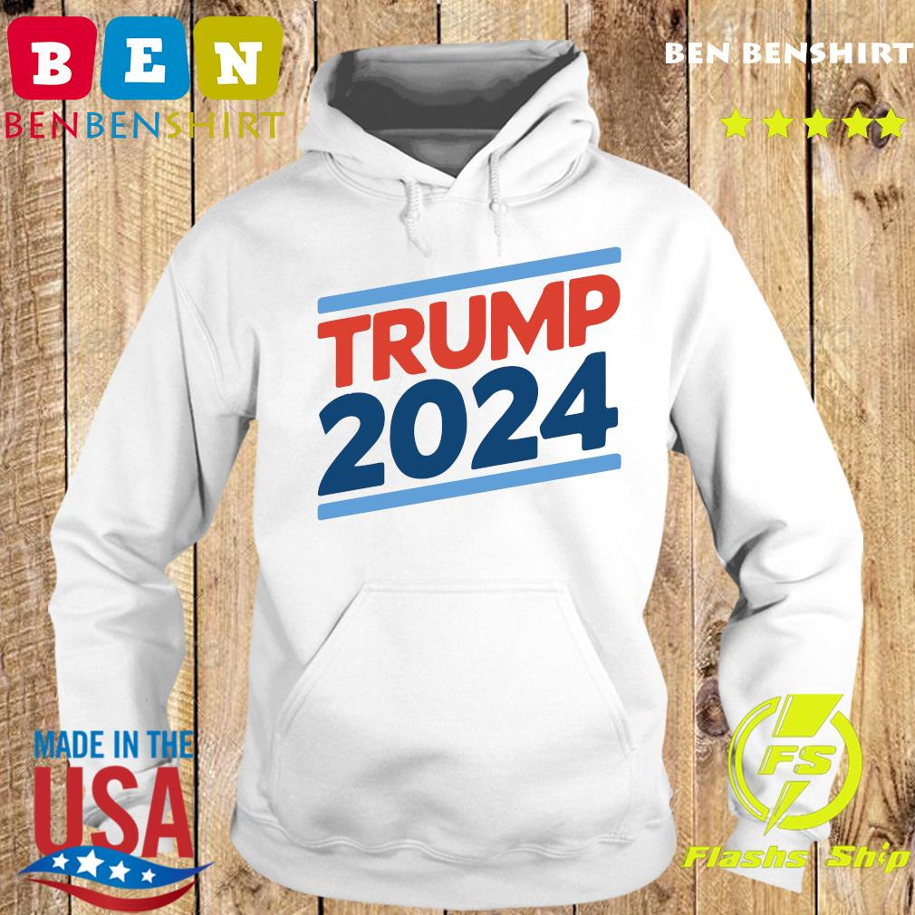 Trump 2024 Retro Crew Neck Shirt Hoodie