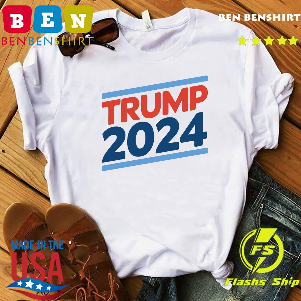 Trump 2024 Retro Crew Neck Shirt