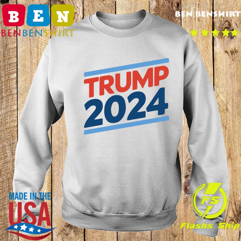 Trump 2024 Retro Crew Neck Shirt Sweater