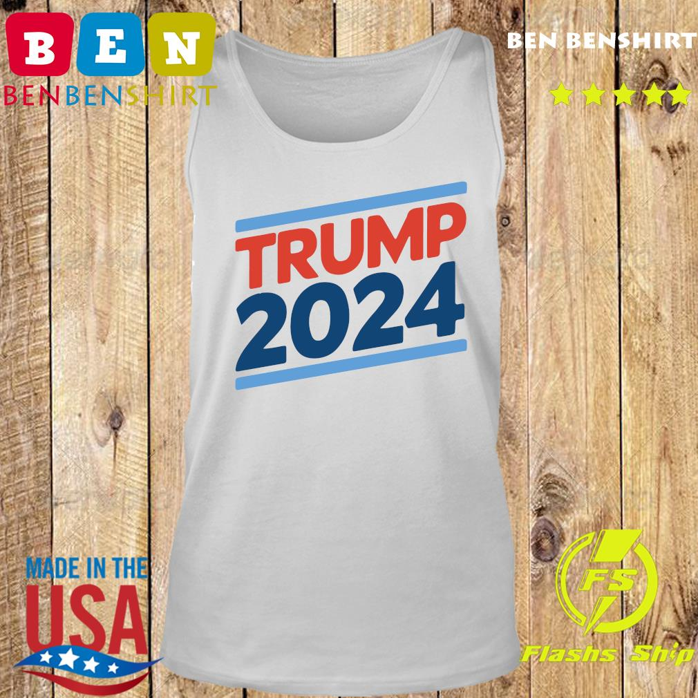 Trump 2024 Retro Crew Neck Shirt Tank top