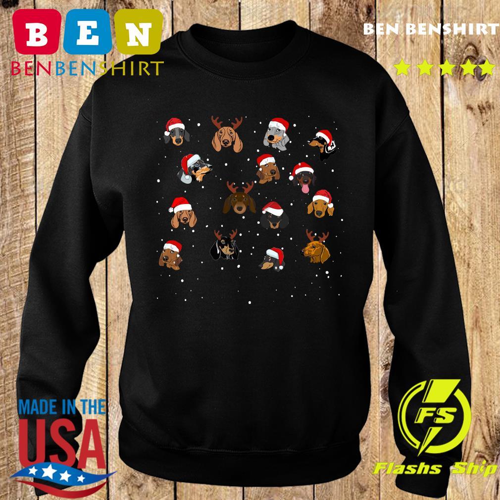 Dogs Santa Merry Christmas Sweatshirt