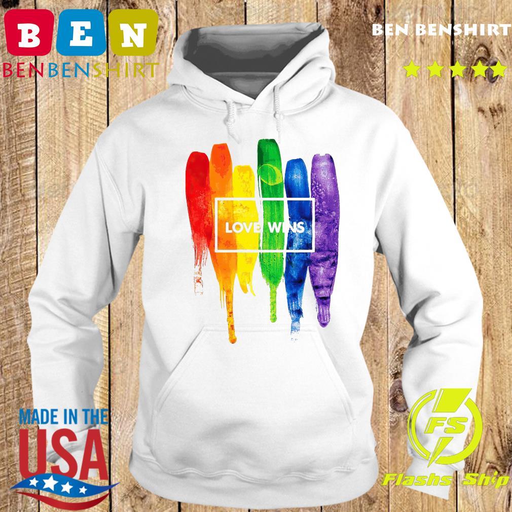 LGBT Love Wins Shirt Hoodie