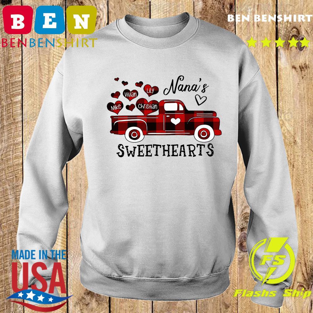 Nana's Sweethearts Truck Mike Vivian Lily Christian Shirt