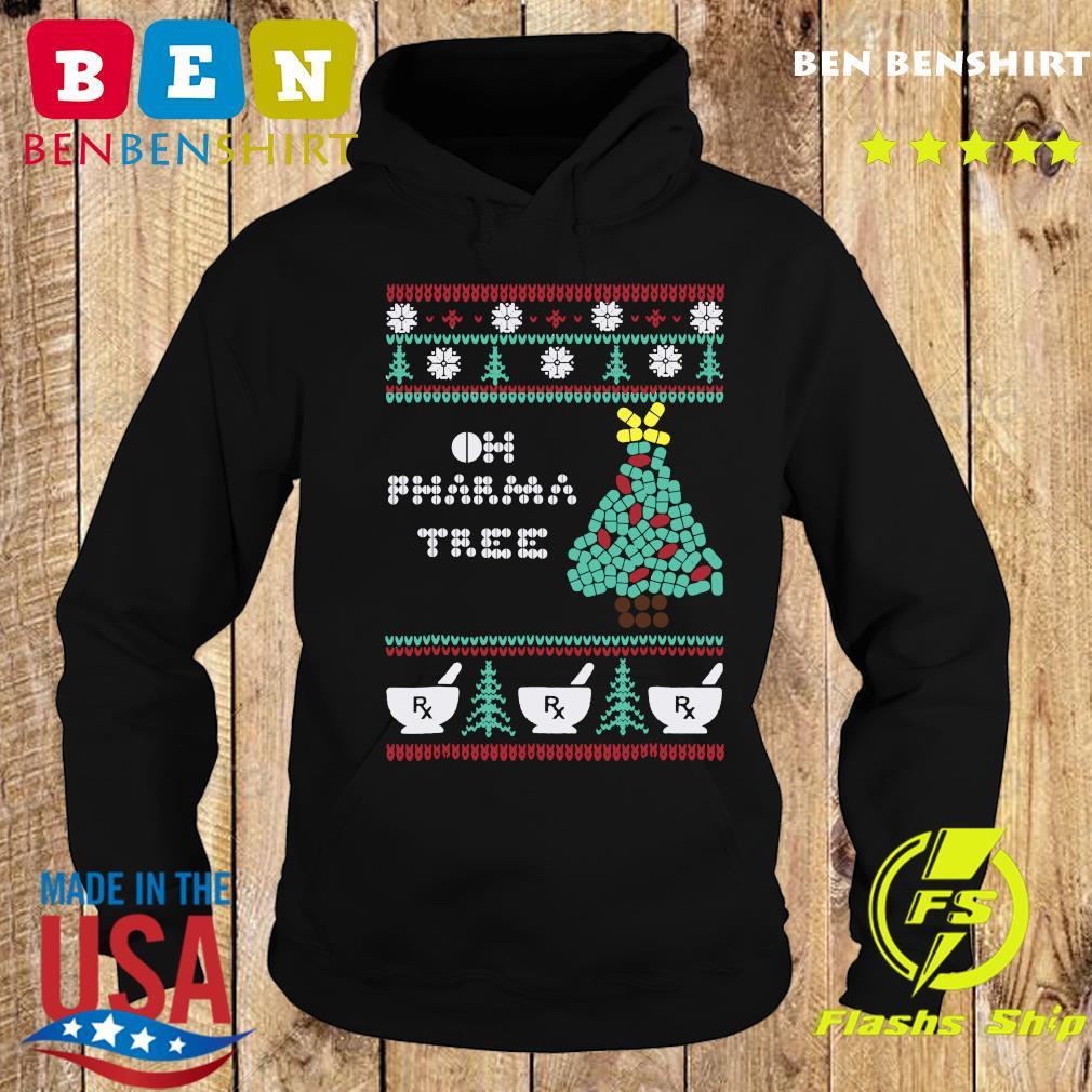 Oh Pharma Tree Rx Rx Rx Ugly Christmas Sweats Hoodie