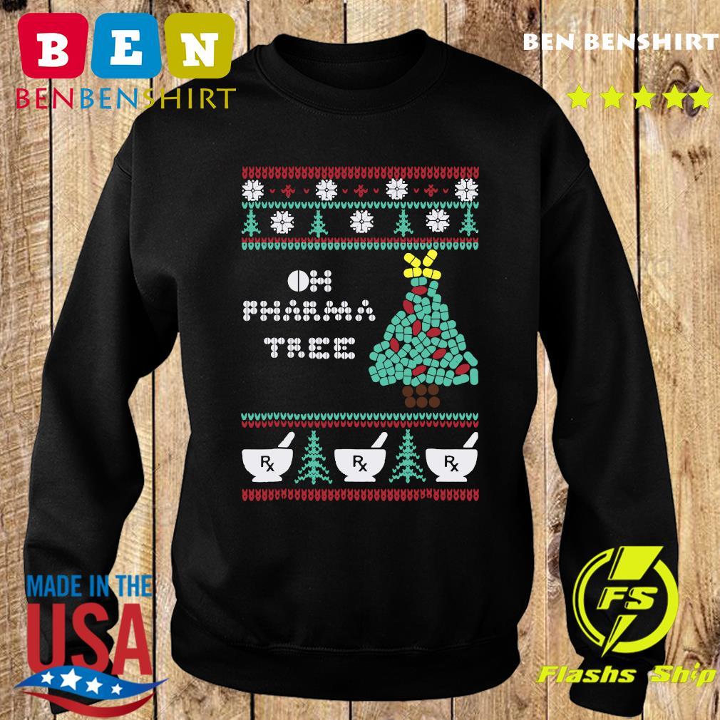 Oh Pharma Tree Rx Rx Rx Ugly Christmas Sweatshirt