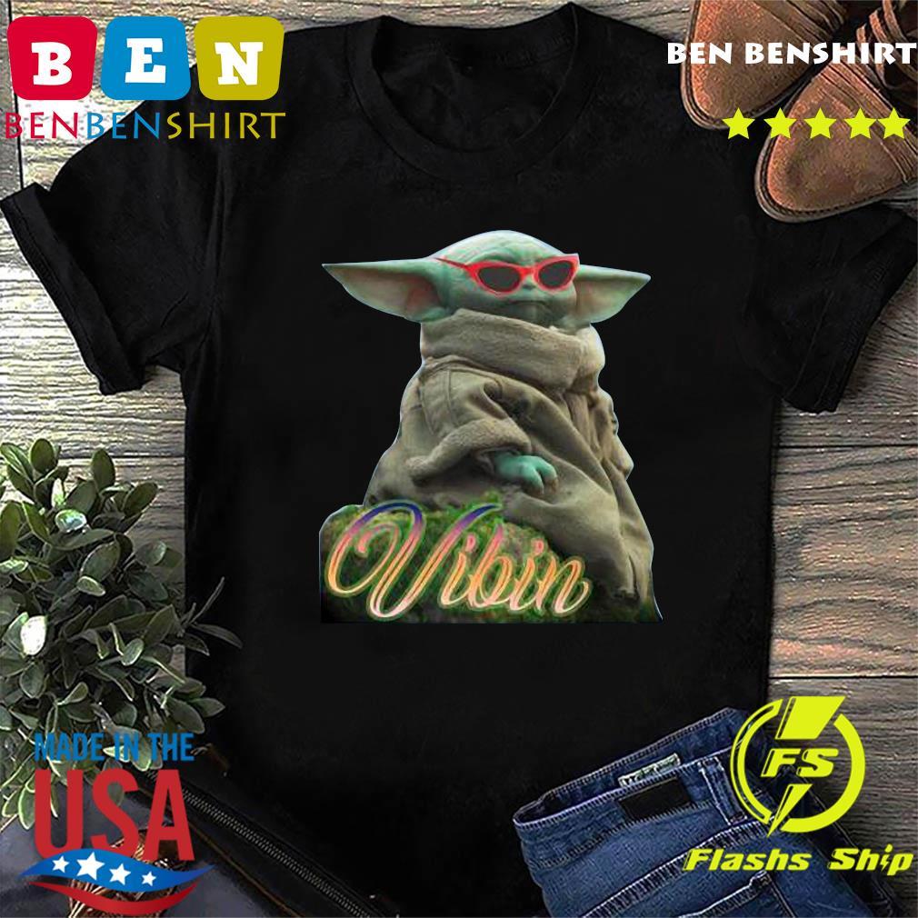 Star War Baby Yoda Vibin Shirt