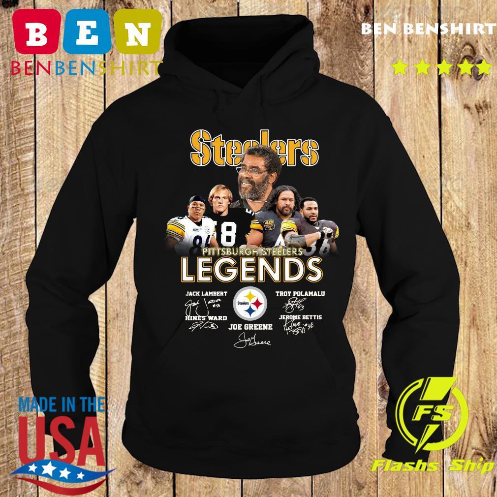 Steelers Pittsburgh Steelers Legends Signatures Shirt Hoodie