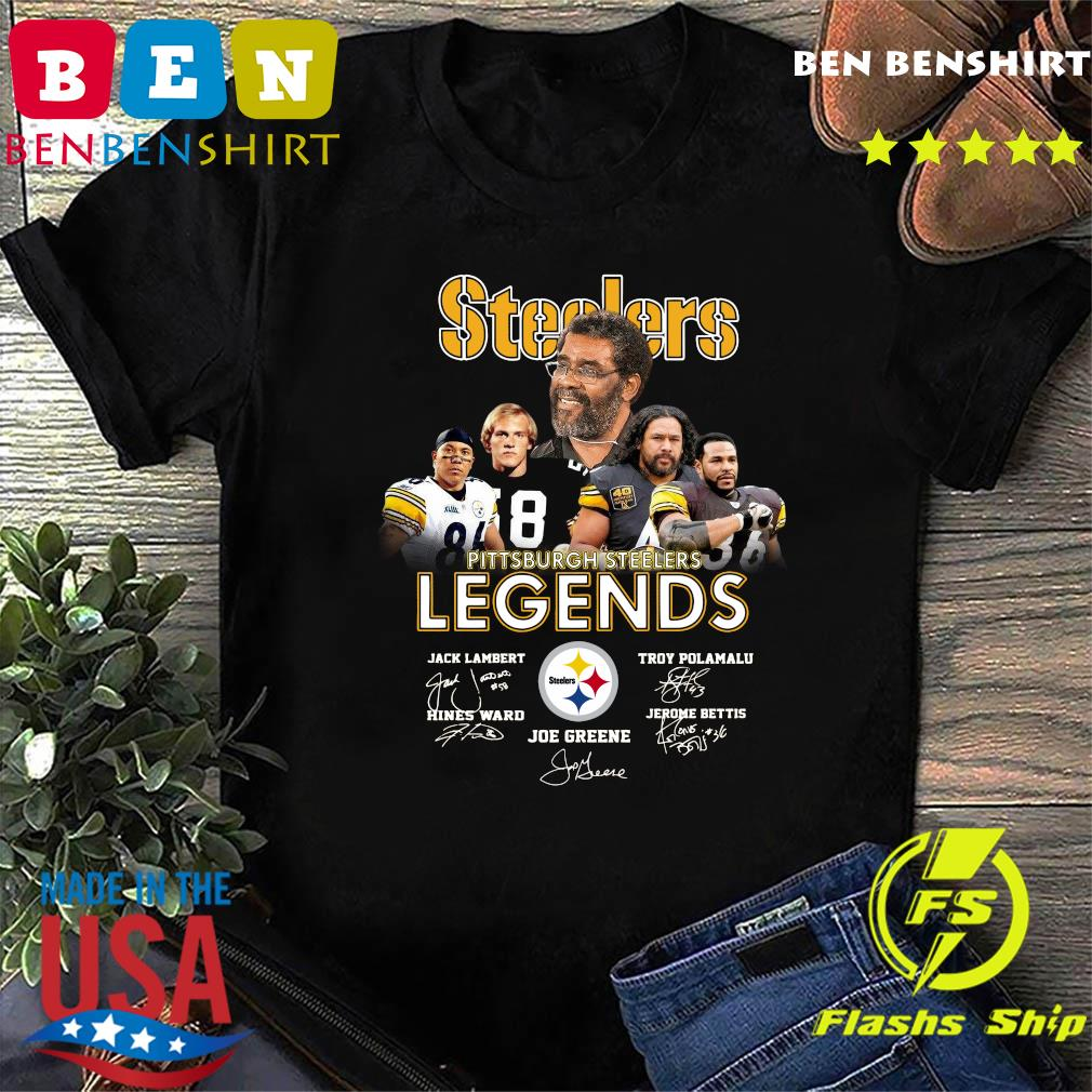 Steelers Pittsburgh Steelers Legends Signatures Shirt