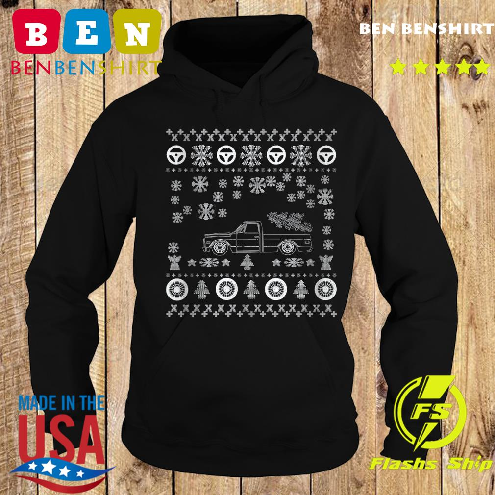 Tow Truck Ugly Merry Christmas Sweats Hoodie