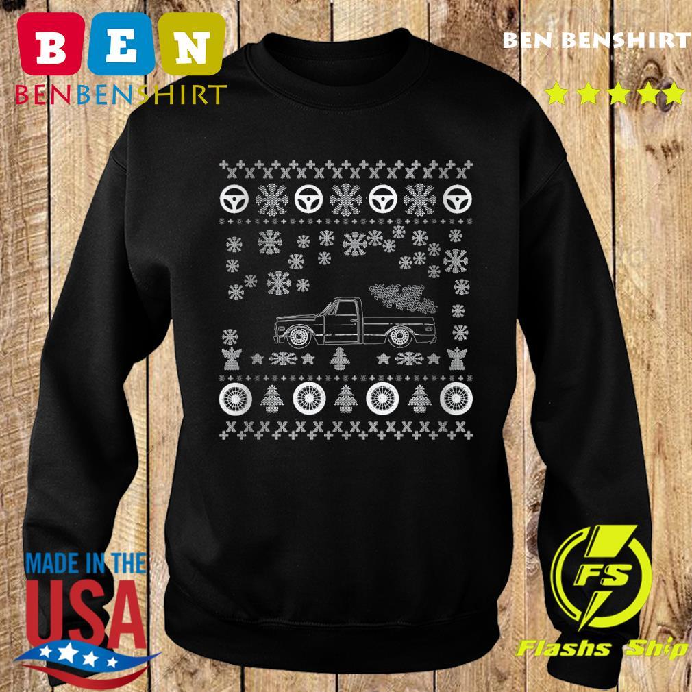 Tow Truck Ugly Merry Christmas Sweatshirt