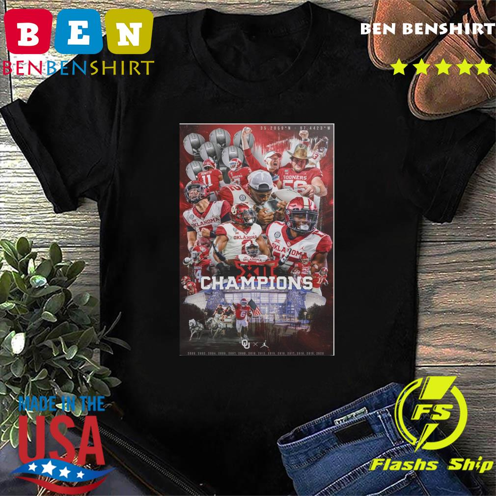 Oklahoma Sooners Team Football Players Champions 2021 Shirt