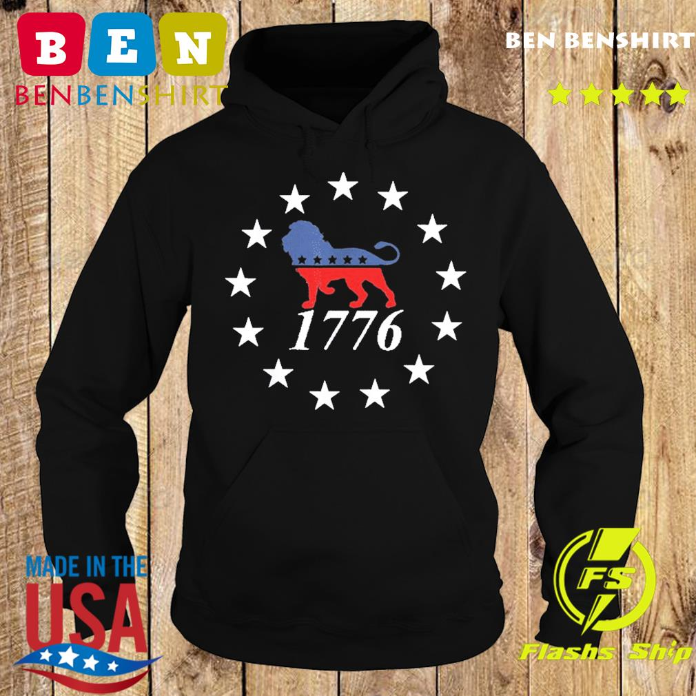 Patriot Party Lion Shirt Conservative Patriotic 4th of July T-Shirt Hoodie