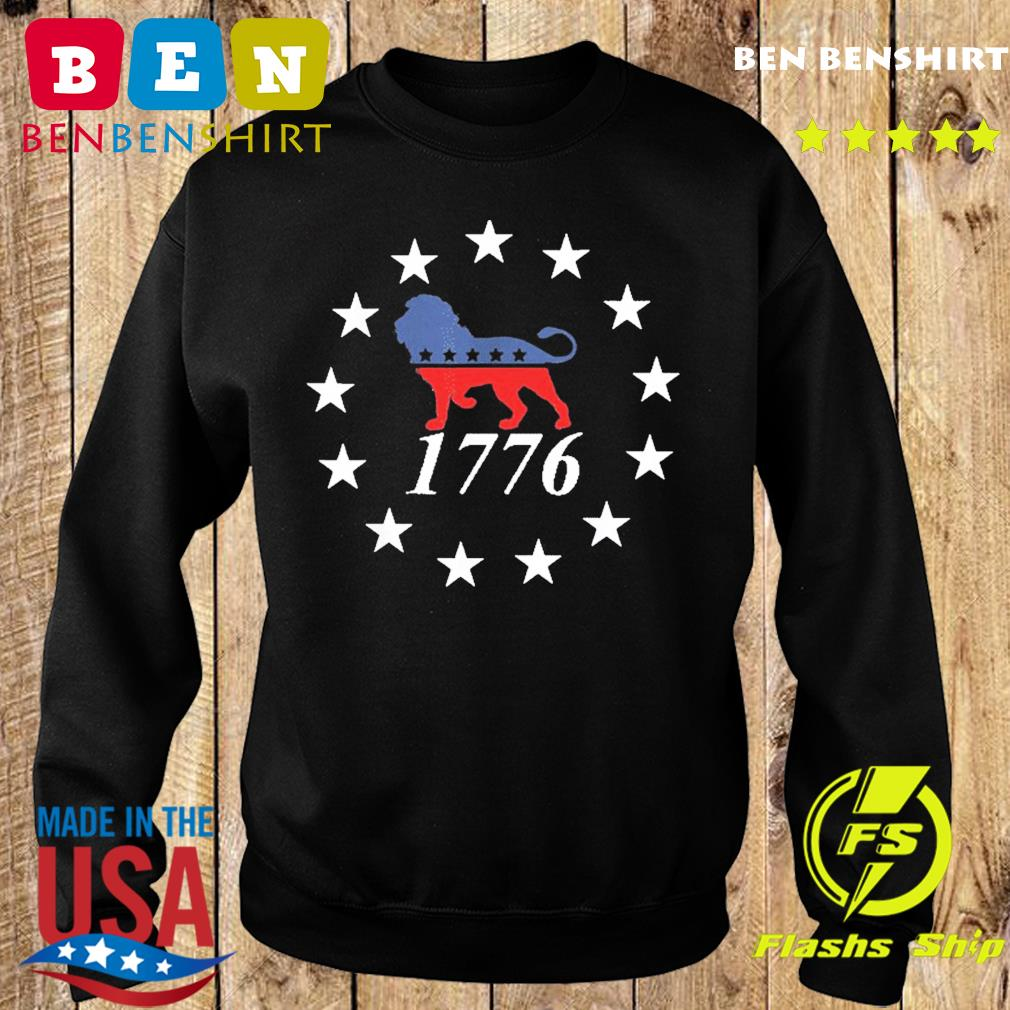 Patriot Party Lion Shirt Conservative Patriotic 4th of July T-Shirt Sweater