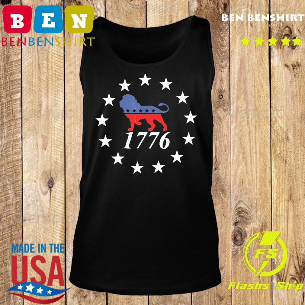 Patriot Party Lion Shirt Conservative Patriotic 4th of July T-Shirt Tank top