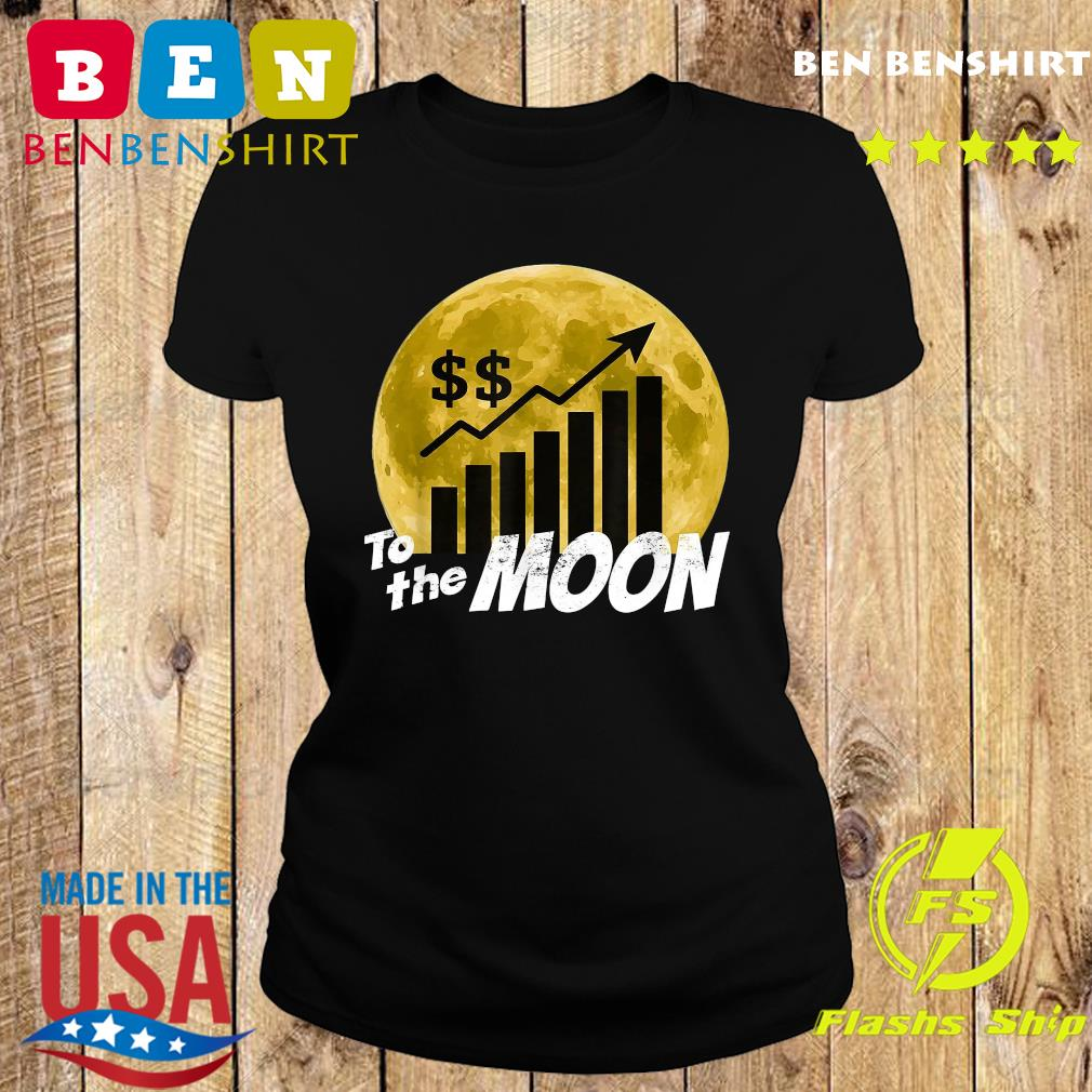 $GME Game To The Moon 2021 Shirt Ladies tee