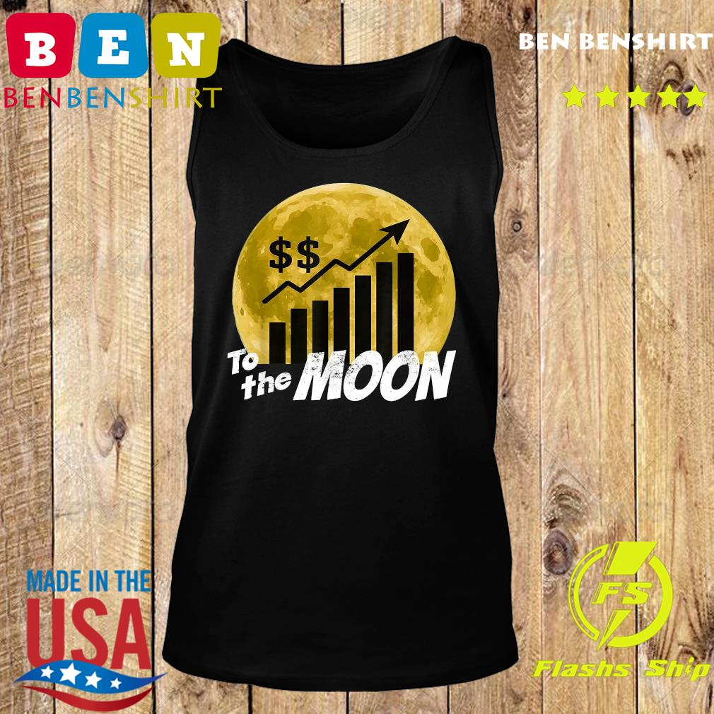 $GME Game To The Moon 2021 Shirt Tank top